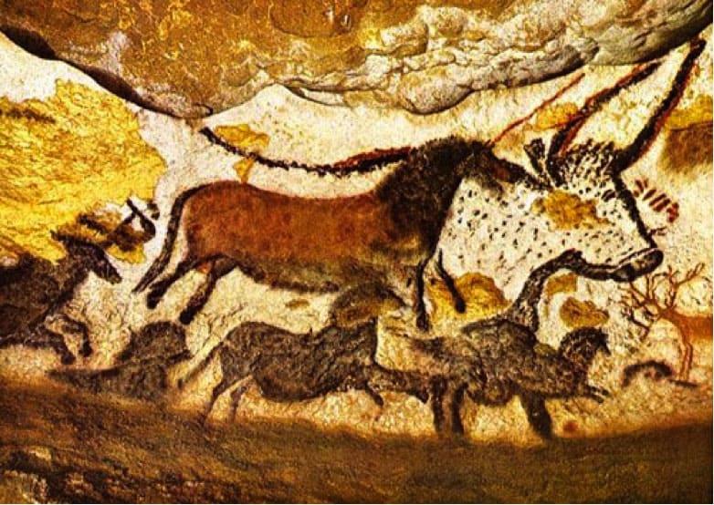 Pinturas de caballos en Altamira