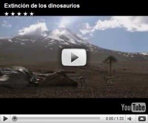 video de la extinción de los dinosaurios, posibles teorias