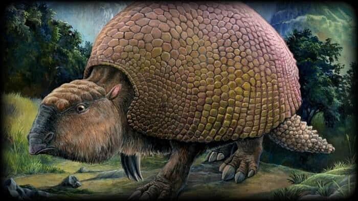 Hábitat natural del Glyptodon
