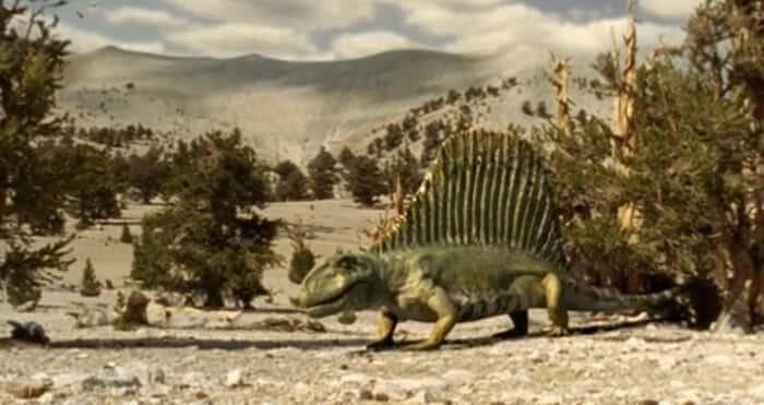Hábitat del Dimetrodon