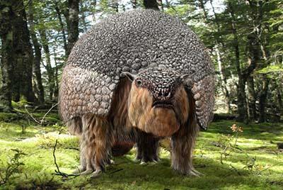 glyptodon – dinosaurio herbivoro