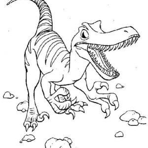 velociraptor para imprimir