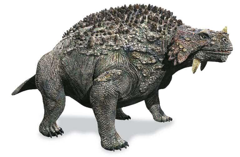 como era el Scutosaurus