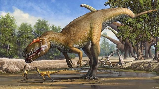 torvosaurus un gran temido