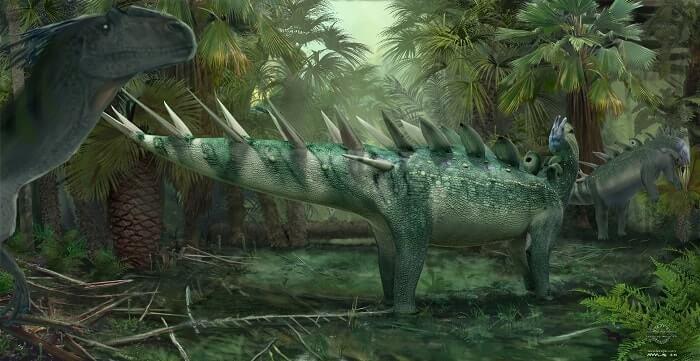 Hábitat del Kentrosaurus