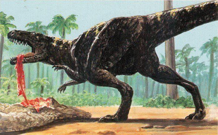 Hábitat natural del Megalosaurus