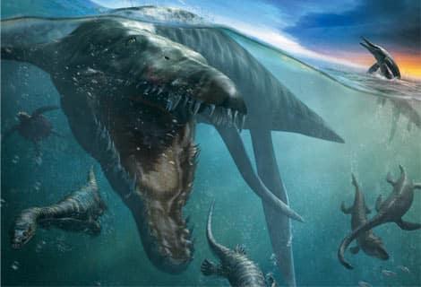 dinosaurios marinos