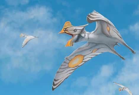 dinosaurios volando