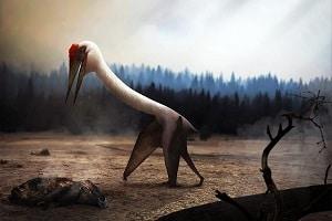 dinosaurio Quetzalcoatlus